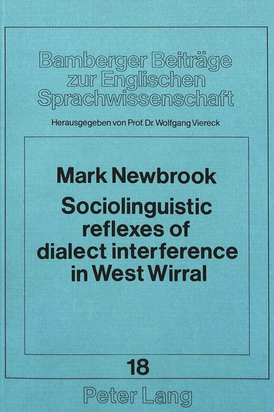 Sociolinguistic reflexes of dialect interference in West Wirral | Dodax.de