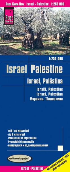 World Mapping Project Israel, Palästina. Israel, Palestine. Israel, Palestina | Dodax.at