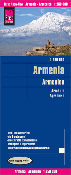 World Mapping Project Armenien. Armenia. Arménie | Dodax.at