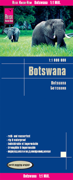World Mapping Project Botswana. Botsuana | Dodax.at