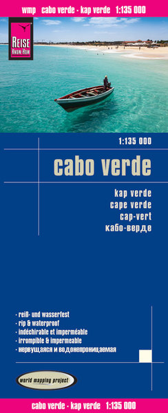 World Mapping Project Reise Know-How Landkarte Cabo Verde (1:135.000) | Dodax.at