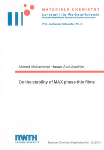 On the stability of MAX phase thin films | Dodax.ch