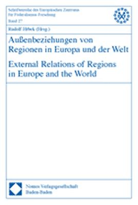 Außenbeziehungen von Regionen in Europa und der Welt - External Relations of Regions in Europe and the World | Dodax.ch