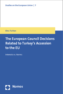 The European Council Decisions Related to Turkey's Accession to the EU | Dodax.de