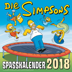 Die Simpsons Spaßkalender 2018 | Dodax.at