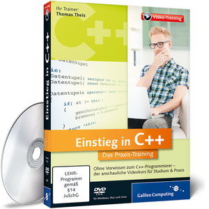Einstieg in C++, DVD-ROM | Dodax.at