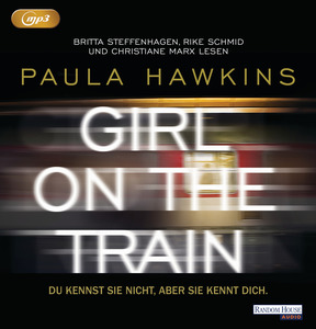 Girl on the Train - Du kennst sie nicht, aber sie kennt dich., 1 MP3-CD | Dodax.ch