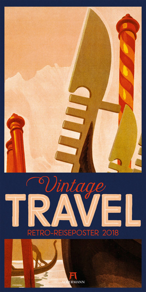 Vintage Travel Posters 2018 | Dodax.co.uk