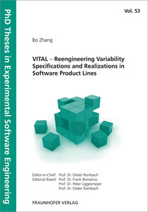 VITAL - Reengineering Variability Specifications and Realizations in Software Product Lines. | Dodax.ch