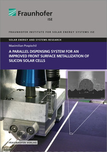 A parallel dispensing System for an improved Front Surface Metallization of Silicon Solar Cells. | Dodax.ch