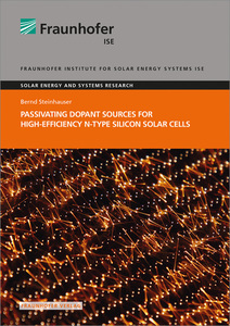 Passivating Dopant Sources for High-Efficiency n-type Silicon Solar Cells. | Dodax.ch