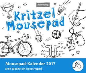 Kritzel Mousepad 2017 | Dodax.at