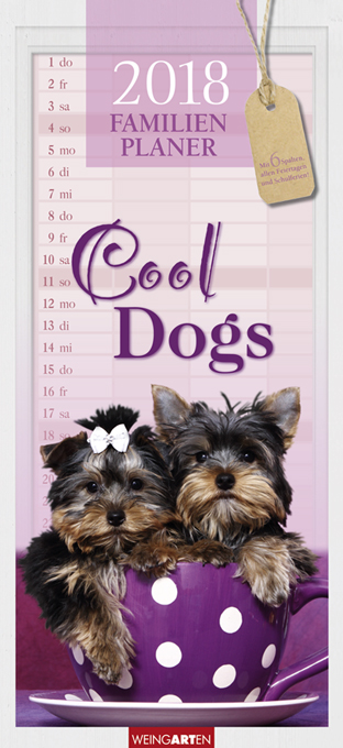 Cool Dogs Familienplaner 2018 | Dodax.ch