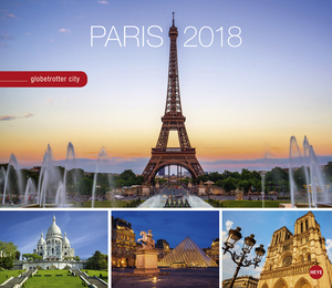 Paris Globetrotter City - Kalender 2018 | Dodax.at
