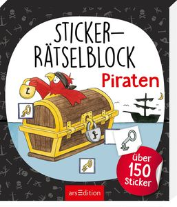 Sticker-Rätselblock Piraten | Dodax.ca