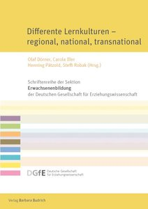 Differente Lernkulturen - regional, national, transnational | Dodax.de