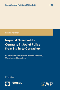 Imperial Overstretch: Germany in Soviet Policy from Stalin to Gorbachev | Dodax.nl