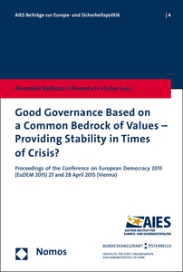 Good Governance Based on a Common Bedrock of Values - Providing Stability in Times of Crisis? | Dodax.at