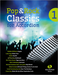 Pop & Rock Classics for Accordion. Bd.1 | Dodax.ch