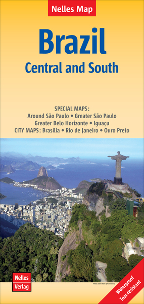Nelles Map Brazil: Central and South | Dodax.at