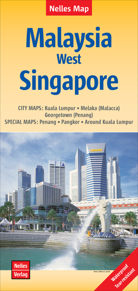 Nelles Map Malaysia: West, Singapore | Dodax.ch
