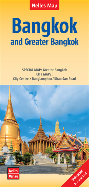 Nelles Map Bangkok and Greater Bangkok | Dodax.ch