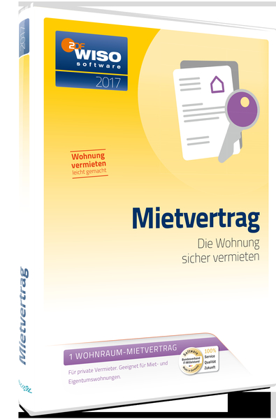 WISO Mietvertrag 2017, CD-ROM | Dodax.at