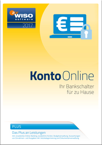 WISO Konto Online Plus 2017, CD-ROM | Dodax.at