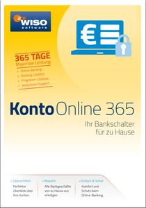 WISO Konto Online 365, CD-ROM | Dodax.at