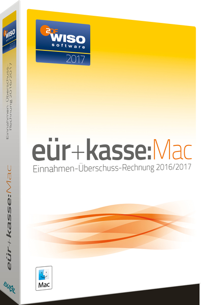 WISO eür+kasse:Mac 2017, CD-ROM | Dodax.at