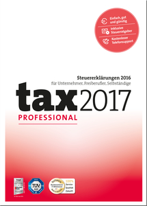 tax 2017 Professional, CD-ROM | Dodax.at