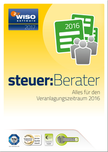 WISO steuer:Berater 2017, CD-ROM | Dodax.at