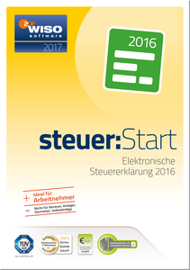 WISO steuer:Start 2017, CD-ROM | Dodax.at
