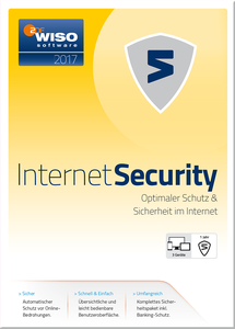 WISO Internet Security 2017, CD-ROM | Dodax.at