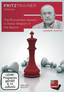 The Blumenfeld Gambit - A Sharp Weapon in the Benoni, 1 DVD-ROM | Dodax.ch