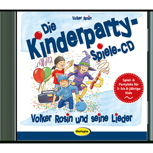 Die Kinderparty-Spiele-CD, Audio-CD | Dodax.at