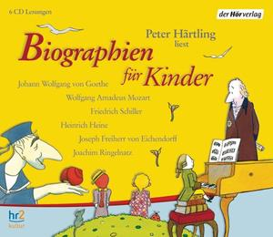 Biographien für Kinder, 6 Audio-CDs | Dodax.ch