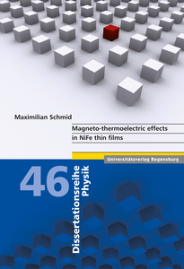 Magneto-thermoelectric effects in NiFe thin films   Dodax.de