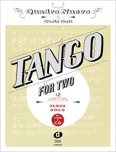 Tango For Two, for flute, w. Audio-CD | Dodax.at