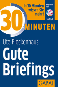30 Minuten Gute Briefings | Dodax.at