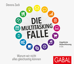 Die Multitasking-Falle, 5 Audio-CDs | Dodax.at