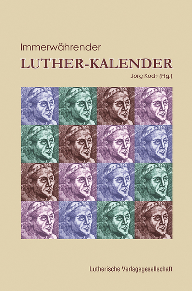 Immerwährender Luther-Kalender | Dodax.at
