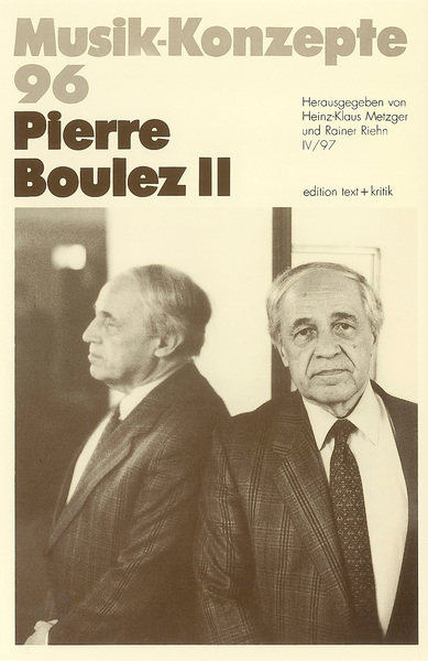 Pierre Boulez II | Dodax.co.uk
