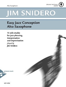 Easy Jazz Conception Alto Saxophone | Dodax.nl