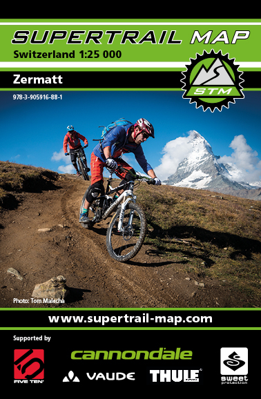 Supertrail Map Zermatt | Dodax.de