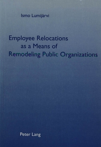 Employee Relocations as a Means of Remodeling Public Organizations | Dodax.ch