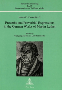 Proverbs and Proverbial Expressions in the German Works of Martin Luther | Dodax.de
