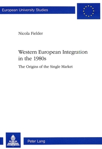 Western European Integration in the 1980s | Dodax.at