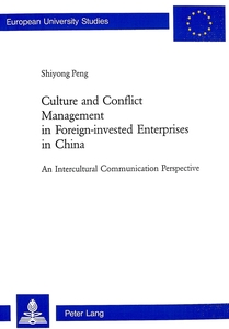 Culture and Conflict Management in Foreign-invested Enterprises in China | Dodax.de