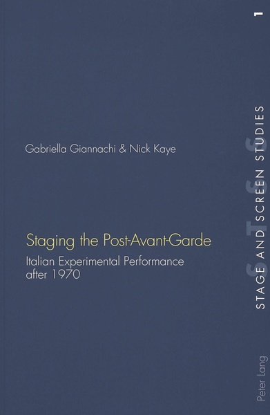 Staging the Post-Avant-Garde | Dodax.at